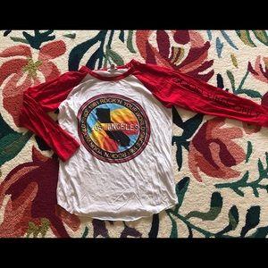 Red Baseball/Ringer T-Shirt
